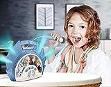 ekids Disney Frozen 2 - Máquina de karaoke con micrófono para niños FR-115V2