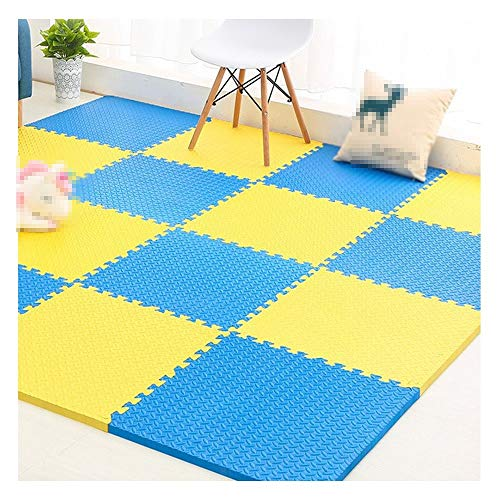 Best Prices! GHHQQZ Infant Crawling Mat Color Stitching Seamless Durable Bedroom Children's Room Int...