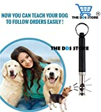 The DDS Store Professional Silent Dog Whistle to Stop Barking, Adjustable Pitch Ultrasonic