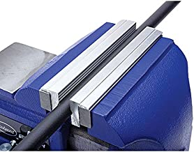 Eastwood 6 in. Aluminum Bench Vise Soft Jaws with Strong Magnetic Universal Barrel Covers