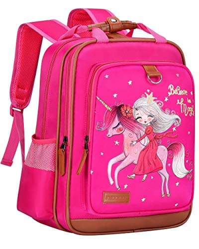 Backpack for Girls 15'  Durable and Functional Unicorn School Book Bag for Kids