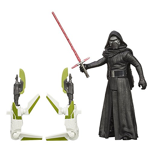 Hasbro Star Wars The Force Awakens Kylo Ren with Build a Weapon Part Forest Gear