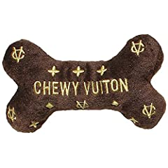 Class. These toys exemplify elegance and ruffinement. Pawsition your pup as fashion savvy hound! Muzzle Friendly. Don't let the clever details fool you. Super soft plush exterior with squeaky toy. Directions. Let your dog fetch, carry or toss these d...