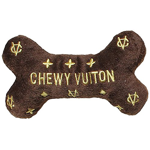 Dog Diggin Designs Runway Pup Collection | Unique Squeaky Parody Plush Dog Toys – Prêt-à-Porter Dog Bones, Balls & More