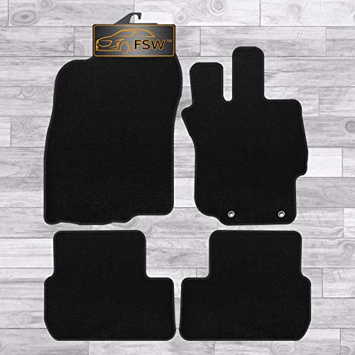 FSW Lancer 2008-2013 Tailored Carpet Car Floor Mats Black