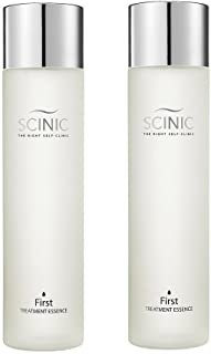 SCINIC First Treatment Essence Face Fluid All Skin Types Women Yeast 150ml x2 (Package of 2)