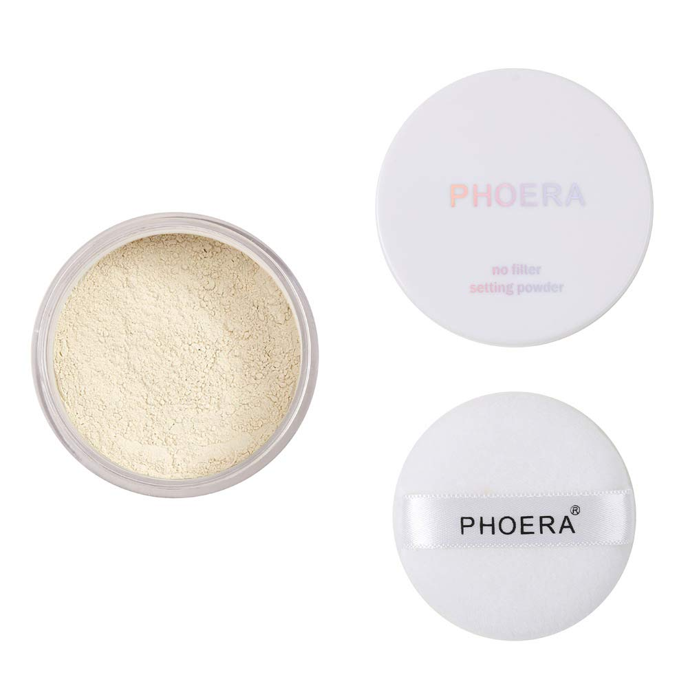 PHOERA Setting Powder Control Oil Skin Color Regular discount Brighten excellence Cover Blem