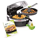Tefal Actifry 2 In 1 Freidora De Aire Caliente, 1400 W, 1.5 kg, Cerámica, Negro 30x49x39cm