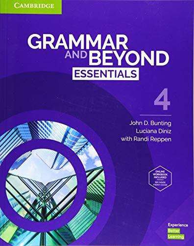 Grammar and Beyond Essentials Sb With Online Wb - Level 4