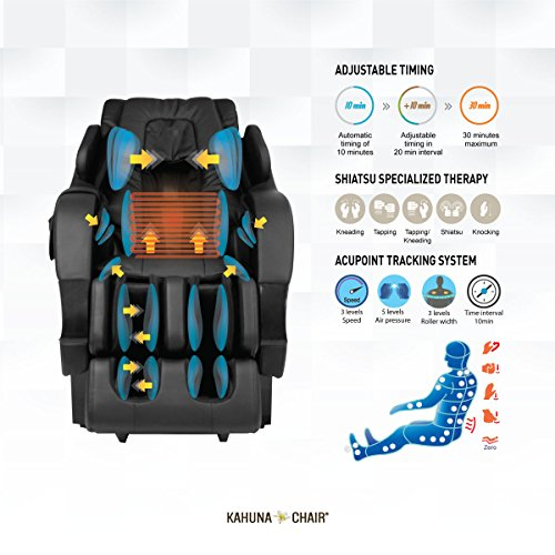 Kahuna Superior Recliner Chair with SL-Track 6 Rollers