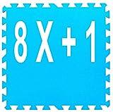 Gre Tappeto Tappetino materassino Base Protezione sottofondo Piscina 50x50 cm per Intex Bestway 15,75 mq