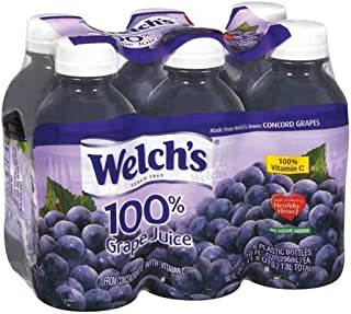 Welch's 100% Grape Juice, 6-10 oz. Cans (Pack of 4)