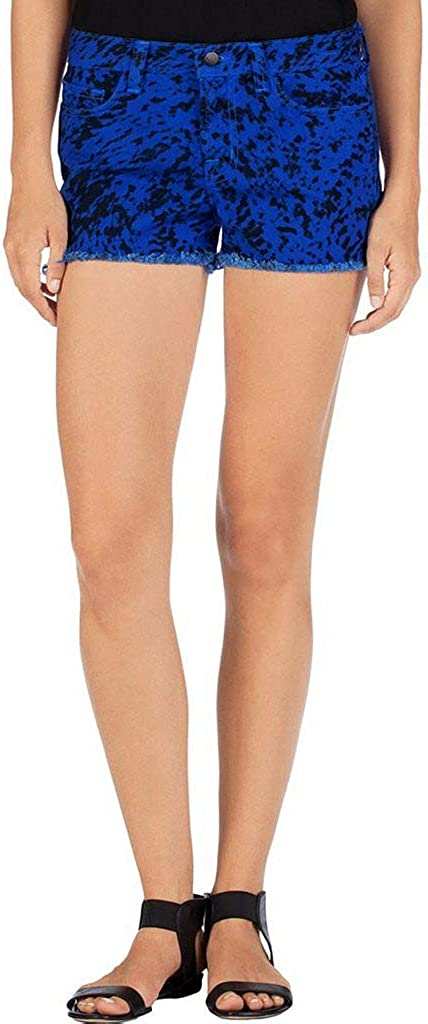 J Brand Women's Denim SR9033T142 Low Rise Cut Off Shorts Blue