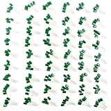 Moonlight 270 pcs 54 Values Film Capacitor Set 220PF - 0.22UF Assorted Capacitor Kit 100-1000V Polyester Capacitor Pack 54 Values x 5pcs for Radio/TV/DC/Various Electronic Equipments