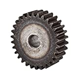 Grigio 10mmx48mmx15mm modulo ruota dell'ingranaggio diritta Spur 1.5 30 denti di metallo