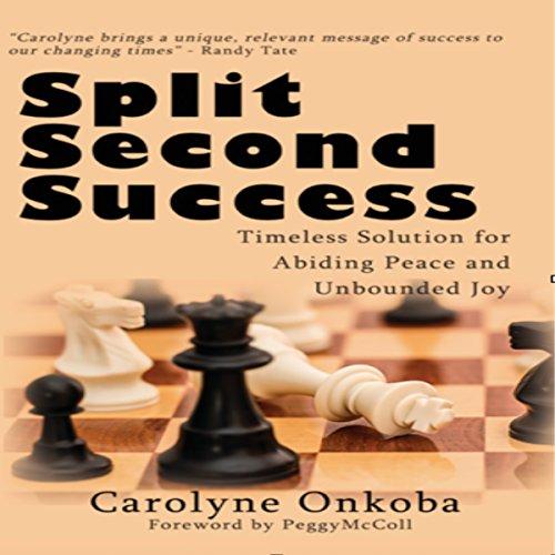 Split Second Success audiobook cover art