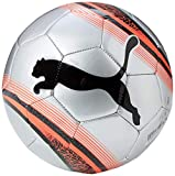 Puma Big Cat 3 Ball Ballon De Foot Adulte Unisexe, Silver-NRGY Red Black, 3