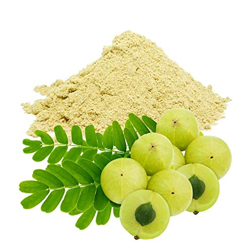 HoitoDeals Natural Organic Amla Powder from India And Skin Herbal Remedy (Indian Gooseberry, Natural Vitamin C)