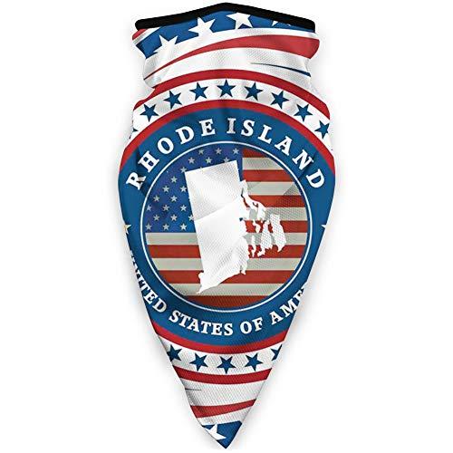 MLNHY - Funda para la cara a prueba de viento, diseño de Estados Unidos con la bandera y estrellas en espiral, decoración facial impresa para todos