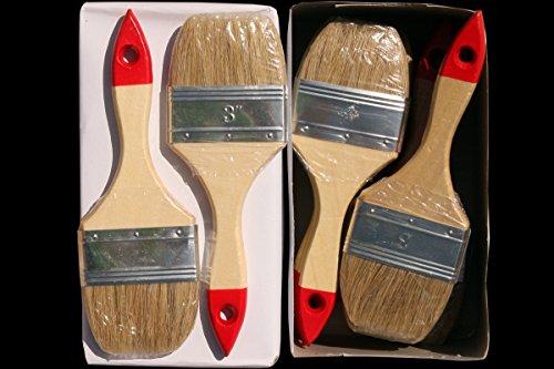 5x Flachpinsel FP 40 Malerpinsel Lackpinsel Lasurpinsel Pinsel 922077
