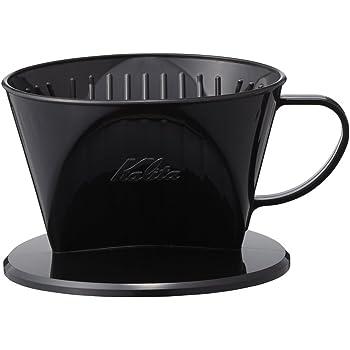 カリタ Kalita コーヒー ドリッパー プラスチック製 1~2人用 101-KP ブラック #04013