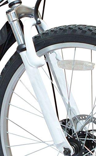 Vélo de montagne pliable26' - 26SF02W - Dérailleur Shimano à 21 vitesses - Sac de transport - Ecosmo