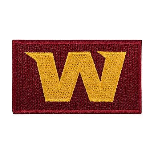 Washington Team Patch  WFT Sports Logo  Embroidered American Football Iron On Patches  Size: 39 x 23 inches