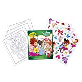 Crayola Fancy Nancy Coloring Pages & Sticker Sheets, Gift...