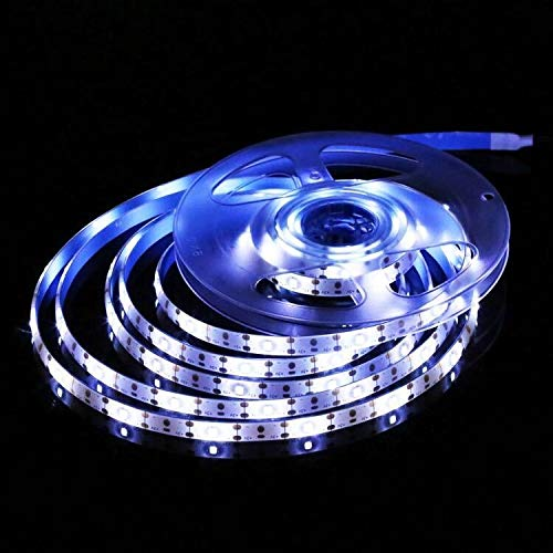 Trihedral-X - Tira de luces solares de 90 LED para decoración de jardín de Navidad, luz solar de jardín (emisión de color: blanco)