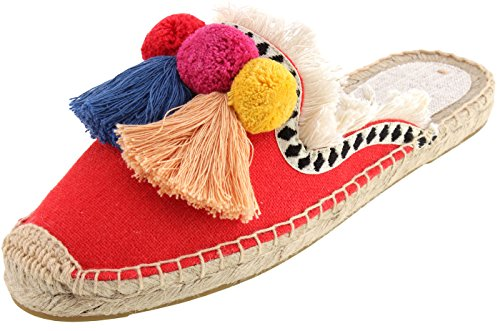 Top 10 best selling list for ladies flat pom pom shoes