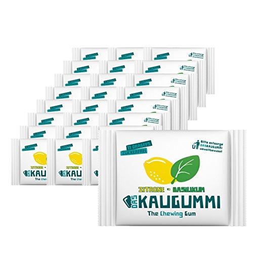 Das Kaugummi Zitrone Basilikum - Bekannt aus