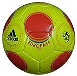 ADIDAS EUROPASS FUTSAL SALA BALL NAHTLOS FUTS SIZE FIFA APPROVED -