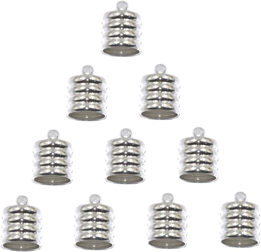 VVERTTQ DF804 10 Brass End Cap Mesh Cord Luxury goods J Kumihimo for Bracelet 100% quality warranty
