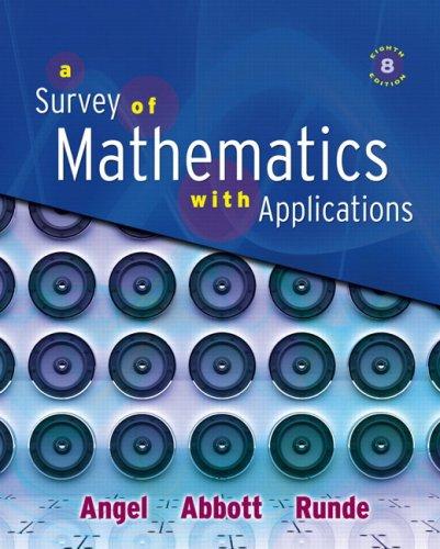 Survey of Mathematics with Applications Value Pack (includes Math Study Skills & MyMathLab/MyStatLab Student Access Kit