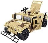 Simulation Militärspielzeug Druckguss Inertial Metalllegierung Modelle Panzer Panzerwagen Öffnen Türen mit Ton und Licht Pullback Aktion Detailliertes Innenmodell 3 Jahre altes Kindergeburtstagsgesc
