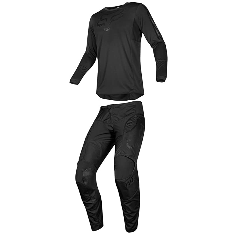 Fox Racing 2019 180 SABBATH Jersey and Pants Combo Offroad Gear Adult Mens Black Large Jersey/Pants 32W