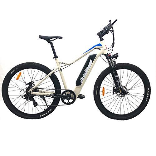 DAS.BIKE WEIß 29 Zoll Elektro Mountainbike Trekking ALU Ebike E-Bike Elektrofahrrad EMTB USB Anschluss