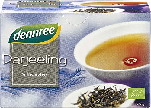 dennree Schwarztee Indien Darjeeling PGI im Beutel (30 g) - Bio