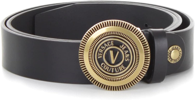 Versace Jeans Couture 71YA6F08 72006 - Cinturones para hombre, color negro, 105