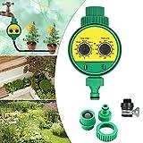 GEBIN Bewässerungsuhr, Bewässerungscomputer, Automatische Wasser Timer, Outdoor Gartenbewässerung...
