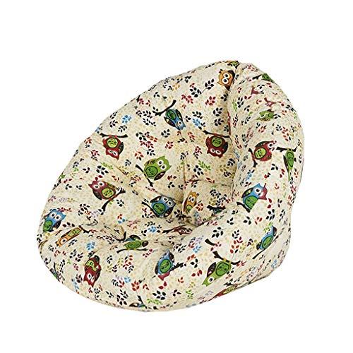 Chaises Longues canapé Chaise Longue canapé de Loisirs Bean Bag Dossier Balcon Chambre à Coucher Loisirs Portatif 8 Couleurs 82 * 70 * 60cm (Couleur : F)