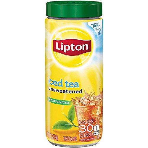 Lipton Unsweetened Decaffeinated Instant Tea Mix, 30 Quarts