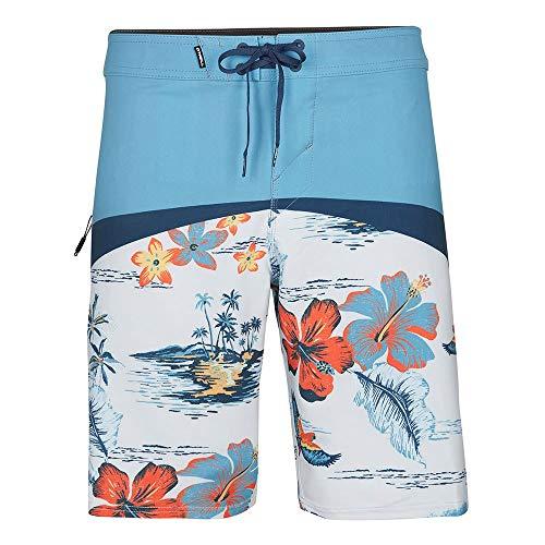 O'Neill Herren PM Hyperfreak Boardshorts Schwimm-Slips, Blau, XXL/3XL (2er Pack)