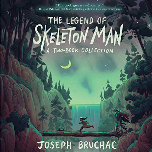 The Legend of Skeleton Man audiobook cover art
