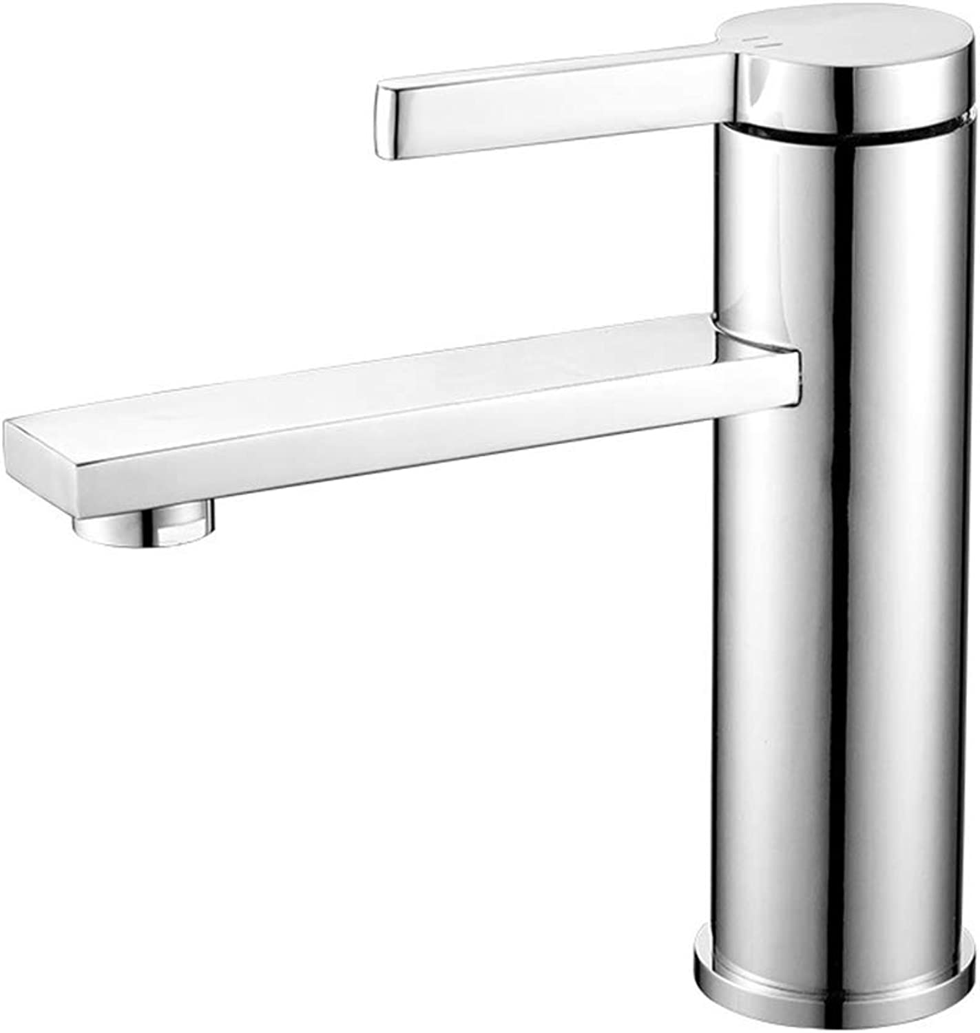 Bathroom taps,Copper Plated Bathroom Faucet, Mixing Single Hole Faucet