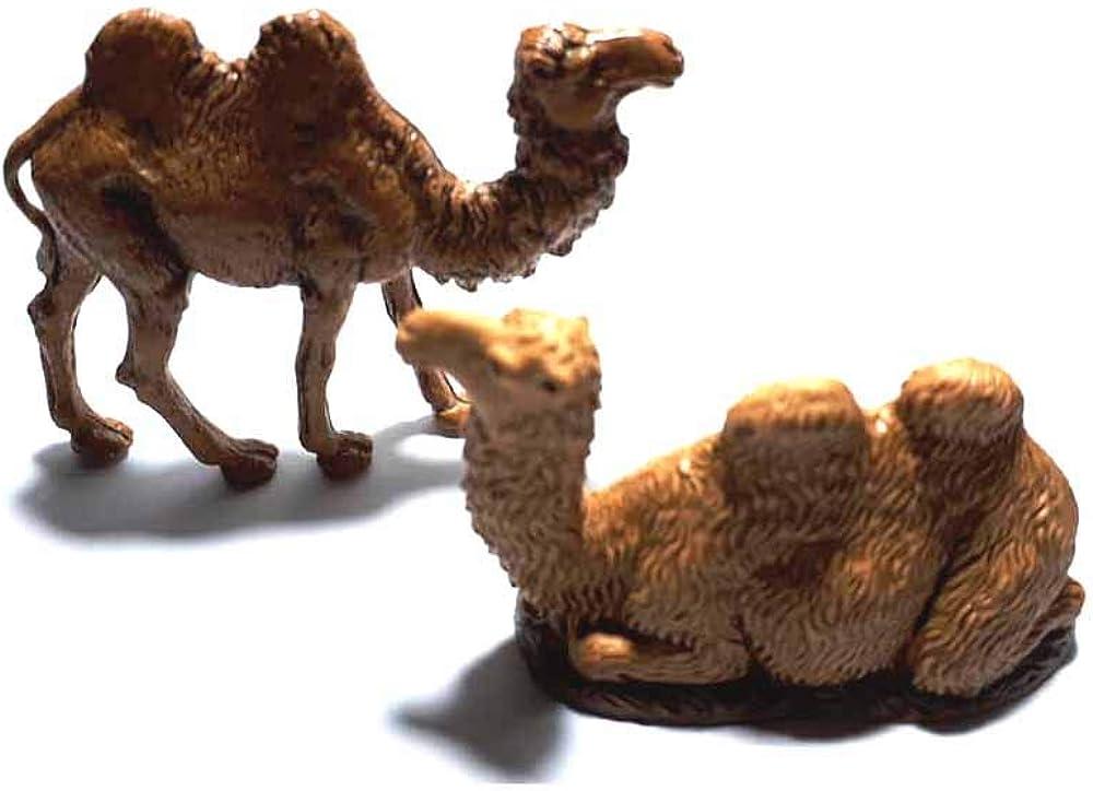 2 cammelli animali per il presepe