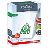 Miele Type U HyClean Bags & Filters, for S7000-S7999 UprightUpright, 4 Pack