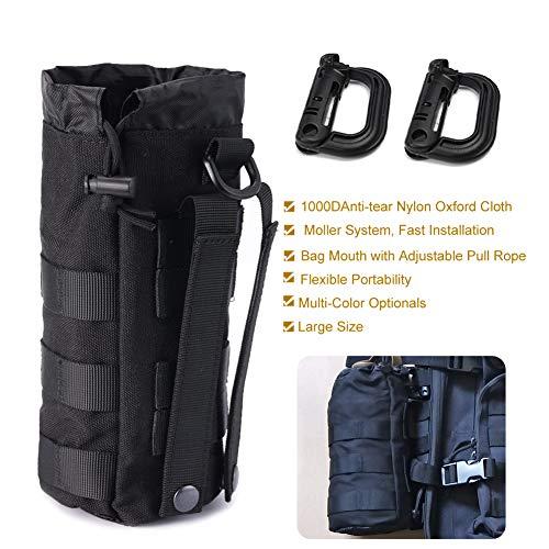 Outdoor Sport Tactical Hiking Water Bottle Holder Belt Carrier Pouch Bag 2 Color