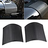 MINGLI Durable ABS Cowl Body Armor for 2007-2018 Jeep JK Wrangler Unlimited Black ABS Plastic Cowl Side Body Armor for Jeep Wrangler JK Rubicon Sahara Jk