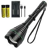 UniqueFire UF1508 T67 IR LED Flashlight for Hunting, Powerful 5W SFH 4715AS 850nm